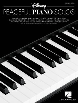 Disney Peaceful Piano Solos (HL-00294663)