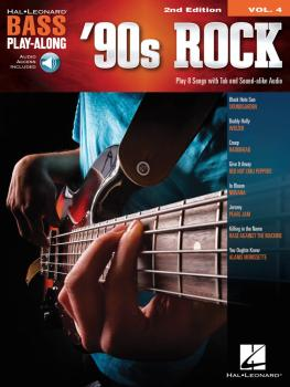 '90s Rock: Bass Play-Along Volume 4 (HL-00294992)
