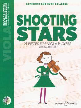 Shooting Stars: 21 Pieces for Viola Players with Audio CD (HL-48024786)