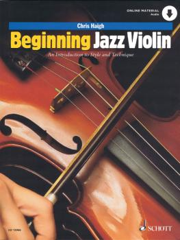 Beginning Jazz Violin: An introduction to Style and Technique Violin w (HL-49046274)