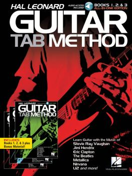 Hal Leonard Guitar Tab Method: Books 1, 2 & 3 All-in-One Edition! (HL-00293226)