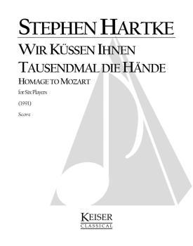 Wir küssen Ihnen tausendmal die Hände: Homage to Mozart for Clarinet,  (HL-00040595)