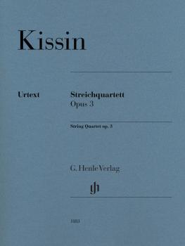 String Quartet Op. 3 (Score and Parts) (HL-51481183)