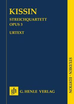 String Quartet Op. 3 (Study Score) (HL-51487183)
