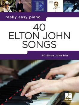 40 Elton John Songs: Really Easy Piano Series (HL-00295382)