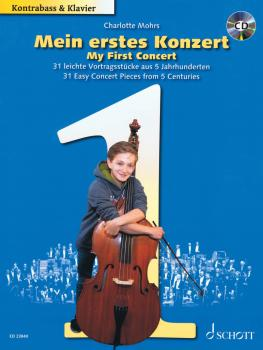 My First Concert: 31 Easy Concert Pieces from 5 Centuries Double Bass  (HL-49046309)