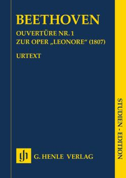 Overture No. 1 for the Opera Leonore (1807 Study Score) (HL-51489044)