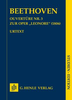 Overture No. 3 for the Opera Leonore (1806) (Study Score) (HL-51489046)