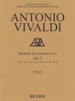 Suonate Da Camera a Tre Op. 1: RV 71, 67, 61, 66, 69, 62, 65, 64, 75,  (HL-50602187)