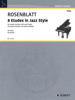 8 Etudes in Jazz Style (for Young Virtuosos with Small Hands Piano) (HL-49046191)
