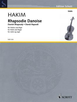 Danish Rhapsody (Violin and Organ) (HL-49046314)