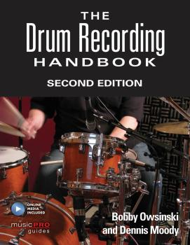 The Drum Recording Handbook (Second Edition) (HL-00151141)