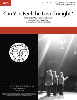 Can You Feel the Love Tonight? (HL-00325416)