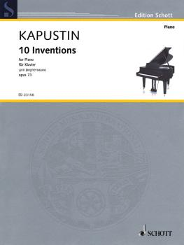 10 Inventions Op. 73 (Piano Solo) (HL-49046331)