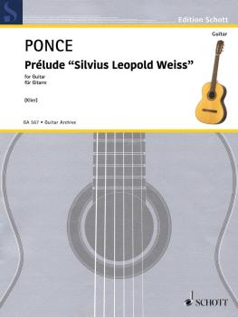 Prélude 'Silvius Leopold Weiss': First Edition Reconstructed by Johann (HL-49046335)