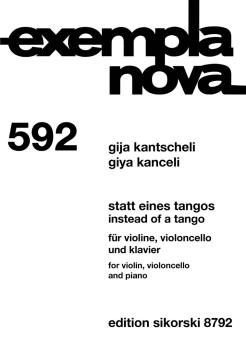 Instead of a Tango (Violin, cello, piano) (HL-50602263)