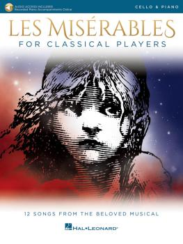 Les Misérables for Classical Players: Cello and Piano with Online Acco (HL-00284866)