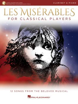 Les Misérables for Classical Players: Clarinet and Piano with Online A (HL-00284868)