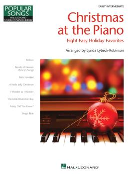 Christmas at the Piano: 8 Holiday Favorites Popular Songs Series (HL-00298194)