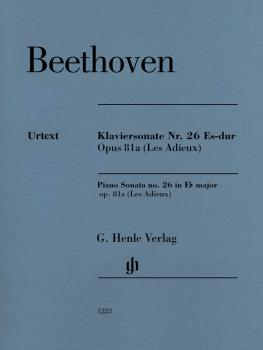 Piano Sonata No. 26 E-flat Major Op. 81a (Les Adieux) - Revised Editio (HL-51481223)
