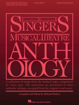 Singer's Musical Theatre Anthology - Volume 7: Baritone/Bass Book Only (HL-00287556)