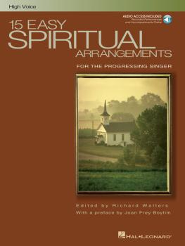 15 Easy Spiritual Arrangements for the Progressing Singer (High Voice) (HL-00000391)