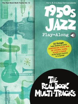 1950s Jazz Play-Along: Real Book Multi-Tracks Volume 12 (HL-00275647)
