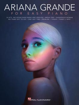 Ariana Grande for Easy Piano (HL-00293337)