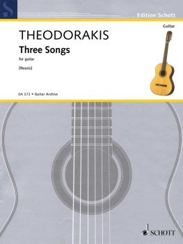 Three Songs (for Guitar) (HL-49046261)