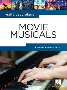 Really Easy Piano - Movie Musicals (HL-00304171)