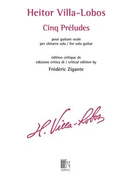 Cinq Préludes for Solo Guitar (Critical Edition) (HL-50565948)