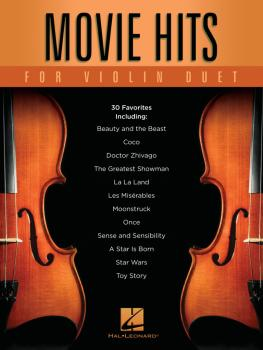 Movie Hits for Violin Duet (HL-00299580)