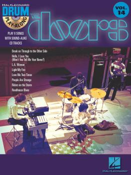 The Doors: Drum Play-Along Volume 14 (HL-00699887)