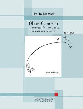 Oboe Concerto: Two Pianos, Percussion, Oboe Score and Parts (HL-48024348)