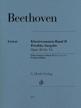 Piano Sonatas Volume 2: Op. 26 bis 54 Perahia Edition (HL-51480834)