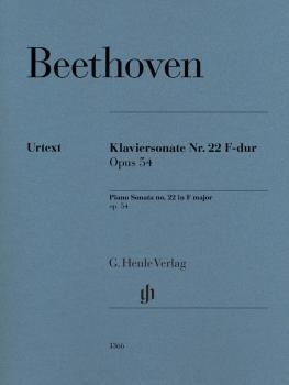 Piano Sonata No. 22 F Major Op. 54 (Revised Edition) (HL-51481366)