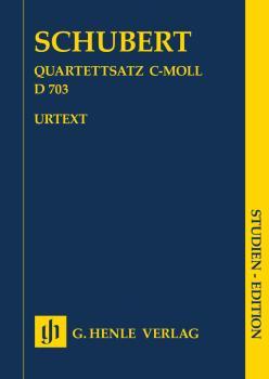 String Quartet Movement (Quartettsatz) in C Minor, D. 703 (Study Score (HL-51487317)