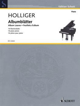 Album Leaves (16 Piano Pieces Piano Solo) (HL-49046328)