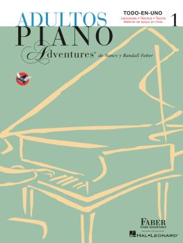 Adultos Piano Adventures Libro 1: Spanish Edition Adult Piano Adventur (HL-00294624)