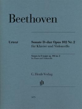 Cello Sonata D Major Op. 102, No. 2 (Cello and Piano) (HL-51481475)