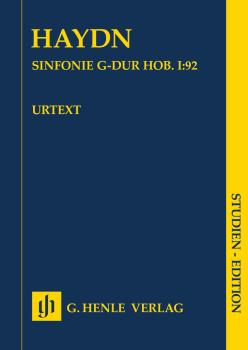 Symphony G Major Hob. I:92 (Oxford): Orchestra Study Score (HL-51489060)