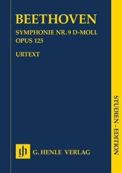 Symphony No. 9 D Minor Op. 125: Orchestra Study Score (HL-51489819)