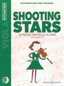 Shooting Stars: 21 Pieces for Viola Players Viola and Piano with Onlin (HL-48024886)