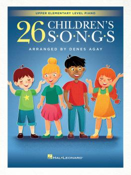 26 Children's Songs (for Upper Elementary Piano) (HL-00329282)