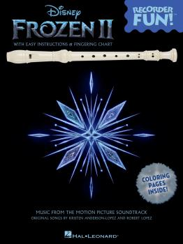 Frozen 2 - Recorder Fun!: Music from the Motion Picture Soundtrack (HL-00334279)