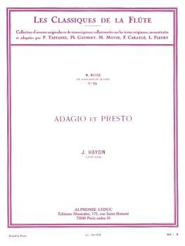 Adagio et Presto - Classiques No. 78 (for Flute and Piano) (HL-48180782)