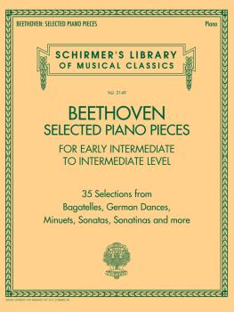 Beethoven: Selected Piano Pieces: Early Intermediate to Intermediate L (HL-50603278)