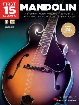 First 15 Lessons - Mandolin: A Beginner's Guide, Featuring Step-By-Ste (HL-00289021)