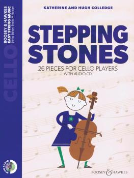Stepping Stones: 26 Pieces for Cello Players Cello Part Only and Audio (HL-48024576)