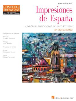 Impresiones de Espana: Composer Showcase Hal Leonard Student Piano Lib (HL-00337520)
